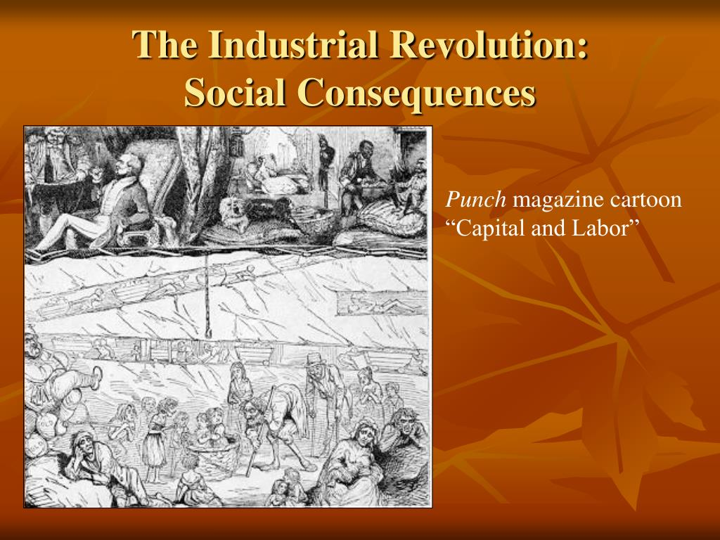 the consequences of the industrial revolution Industrial revolution: industrial revolution, in modern history, the process of change from an agrarian and handicraft economy to one dominated by industry and machine manufacturing.