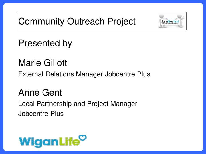 Community Outreach Project