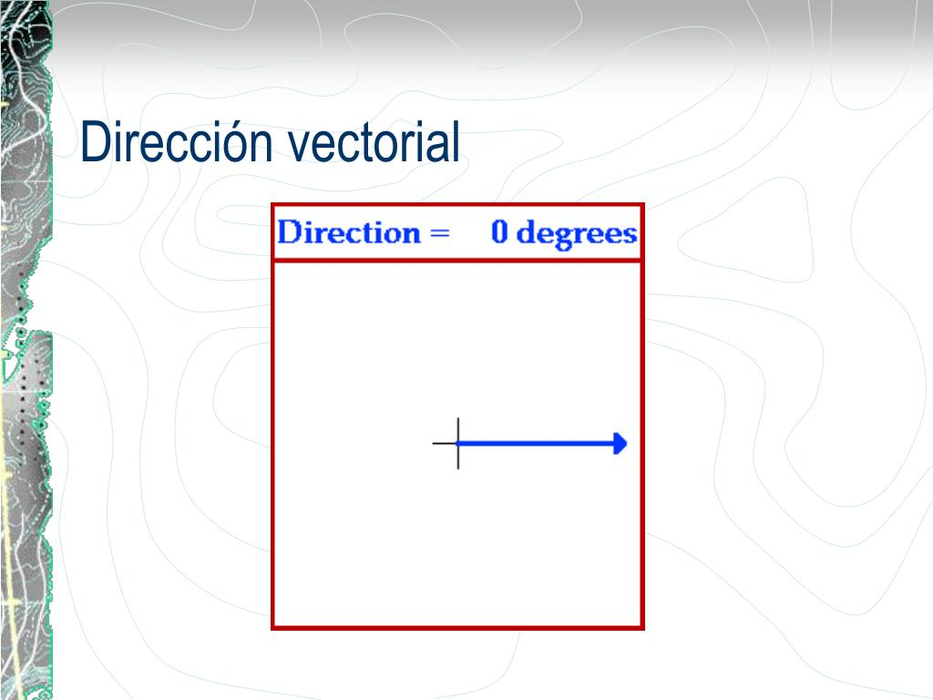 Dirección vectorial