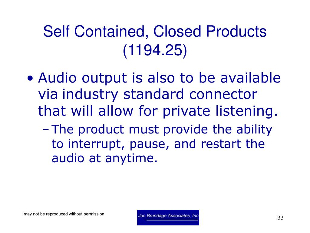 Self Contained, Closed Products (1194.25)