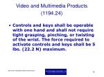 video and multimedia products 1194 2426