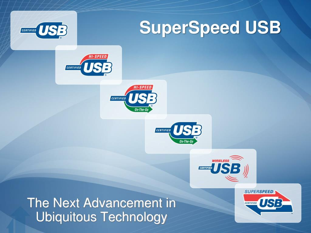 SuperSpeed USB