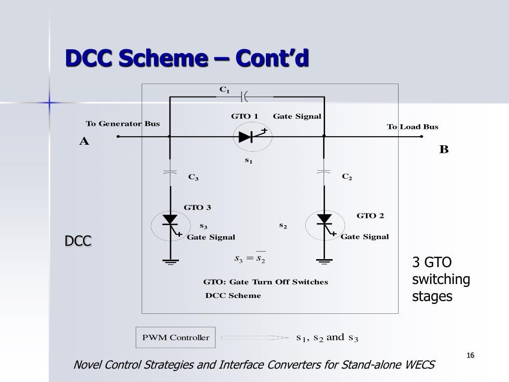 DCC Scheme – Cont'd