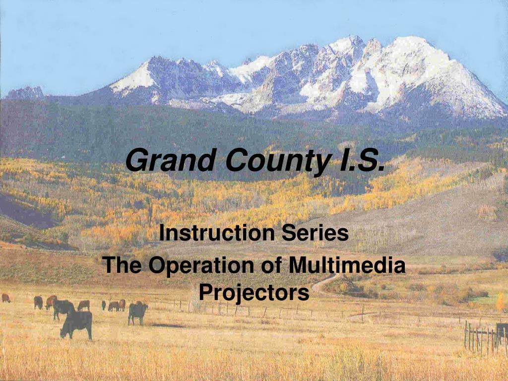 grand county i s