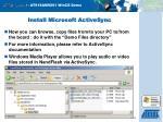 install microsoft activesync20