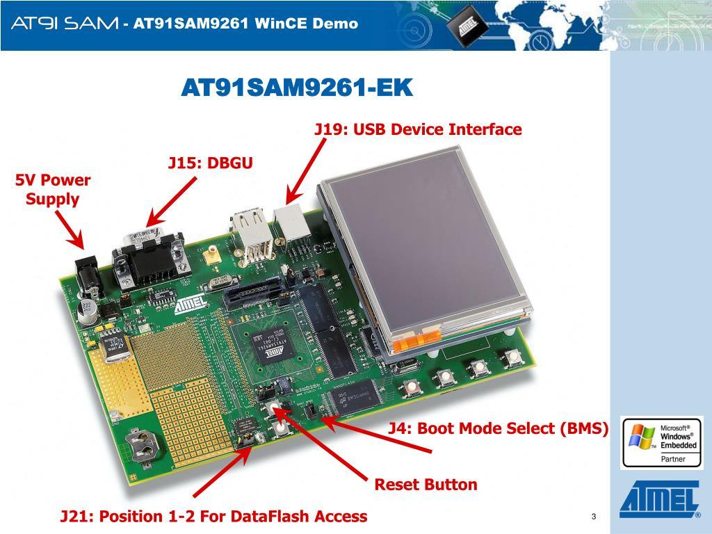 AT91SAM9261-EK