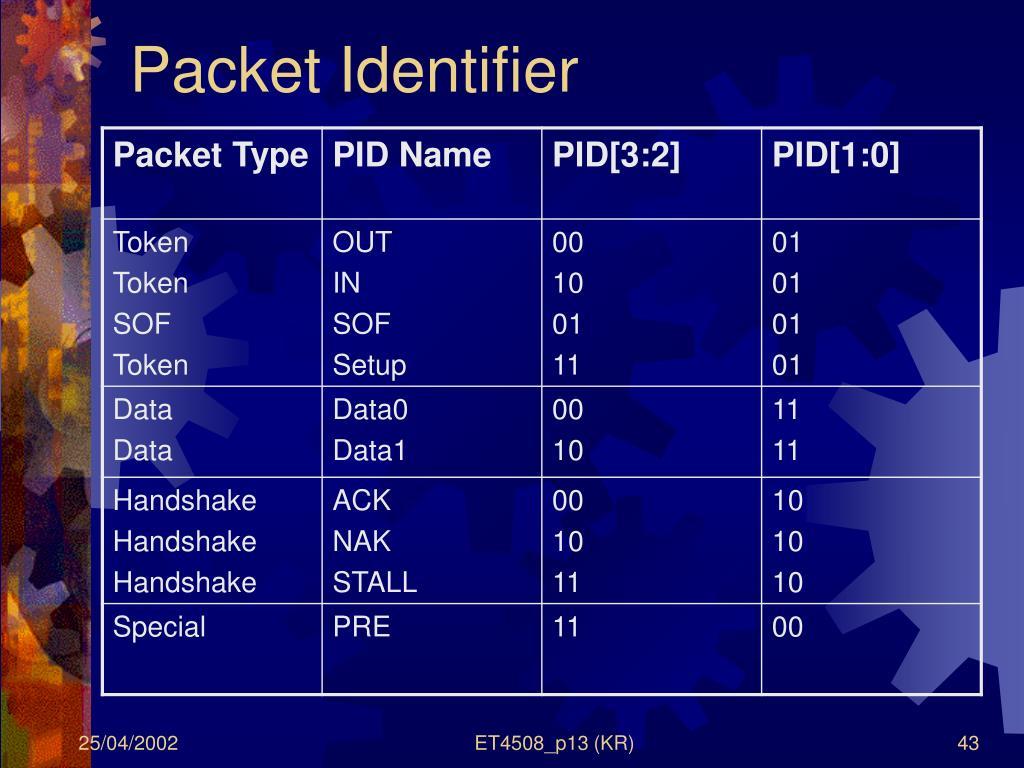 Packet Identifier