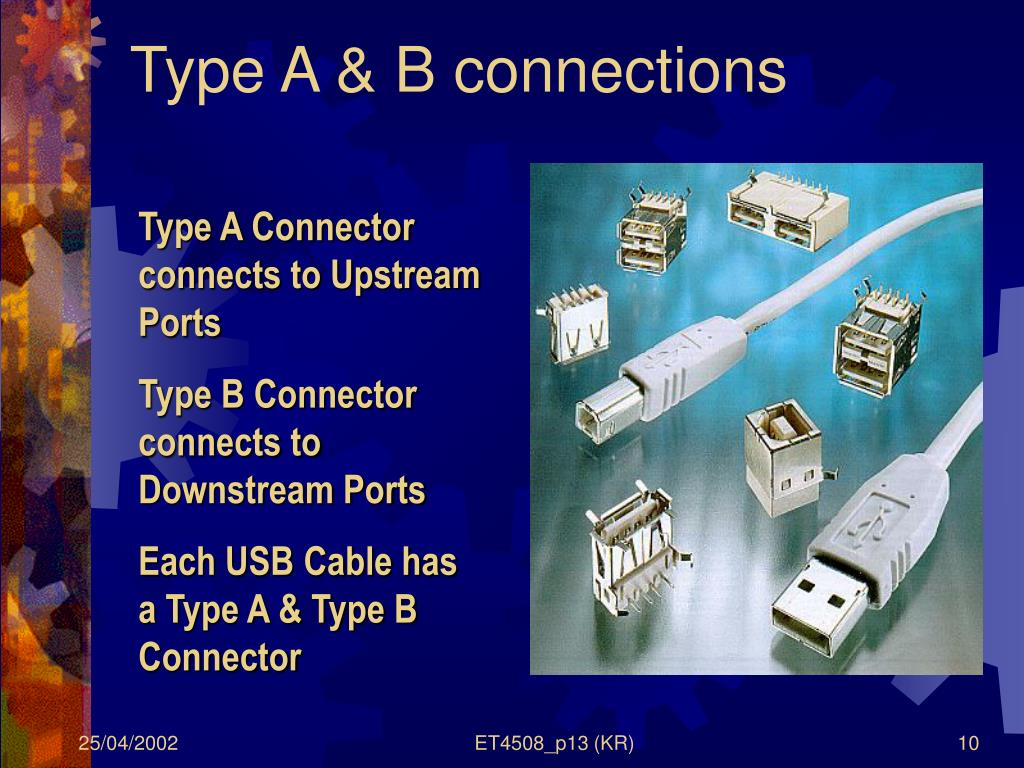 Type A & B connections