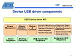 device usb driver components