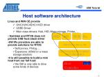 host software architecture
