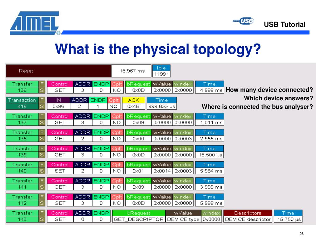 What is the physical topology?