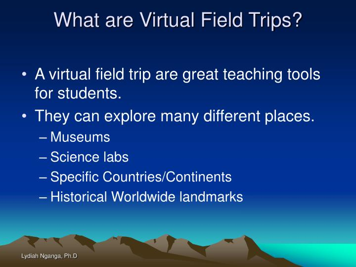 What are Virtual Field Trips?