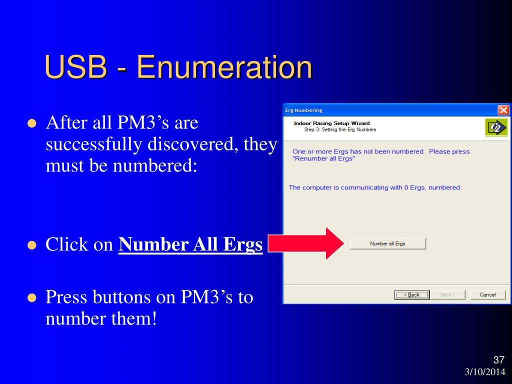 USB - Enumeration