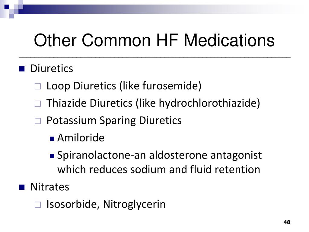 Other Common HF Medications