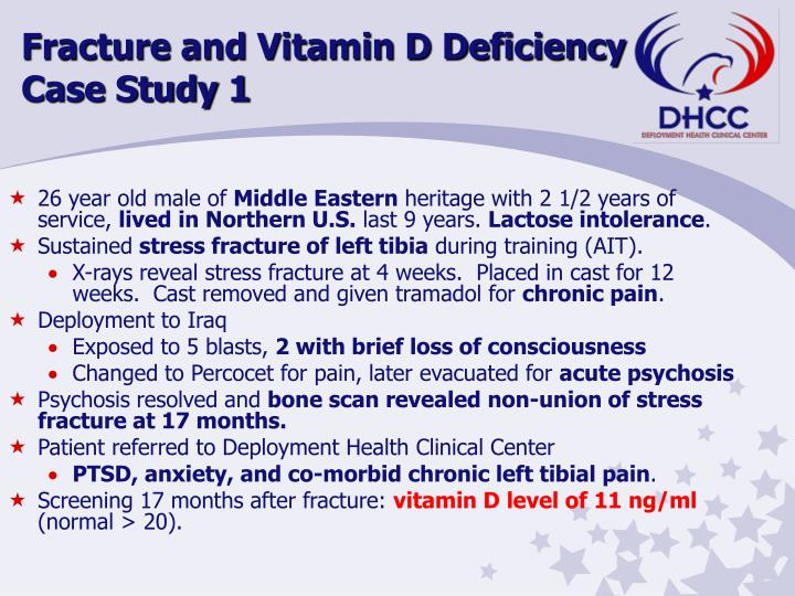 Fracture and Vitamin D Deficiency