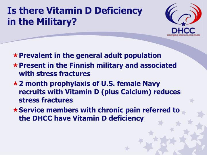 Is there Vitamin D Deficiency