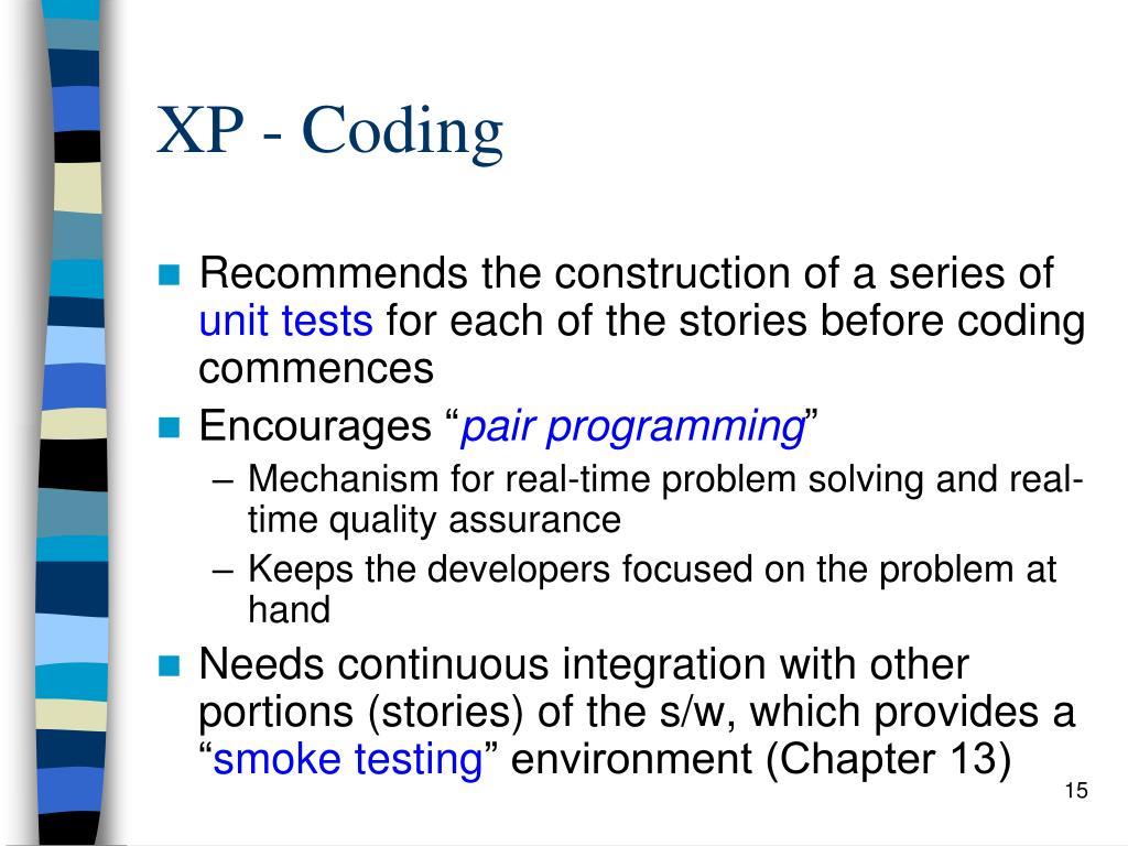 XP - Coding