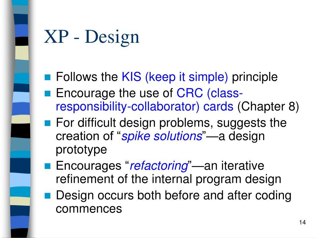 XP - Design