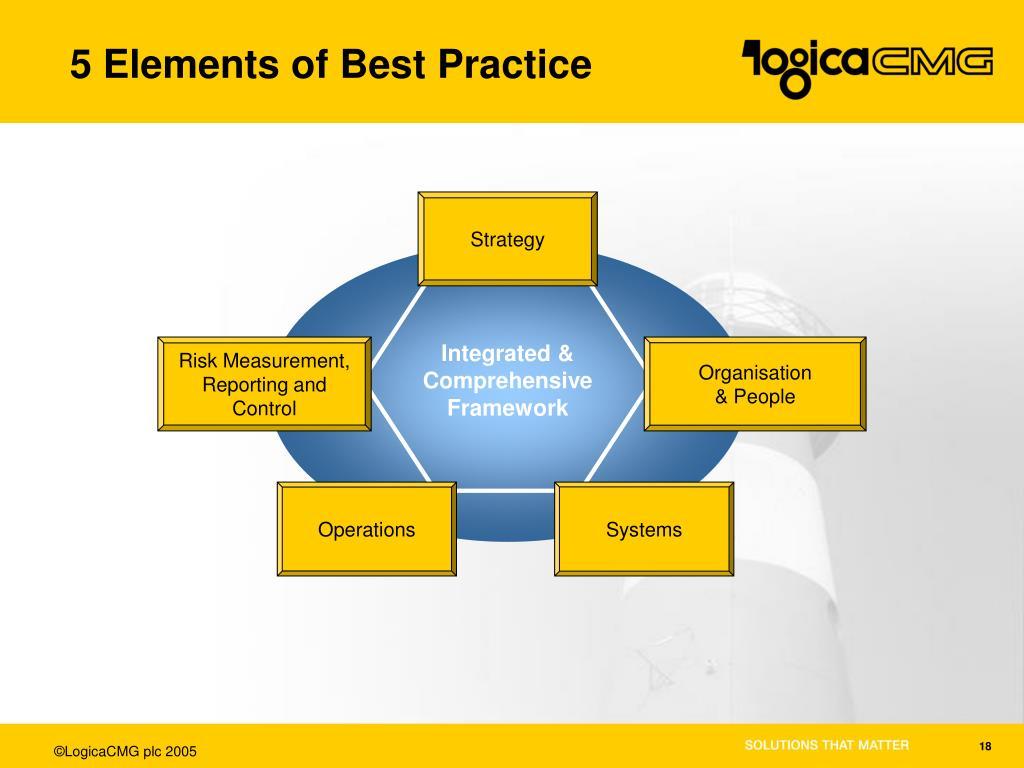 5 Elements of Best Practice