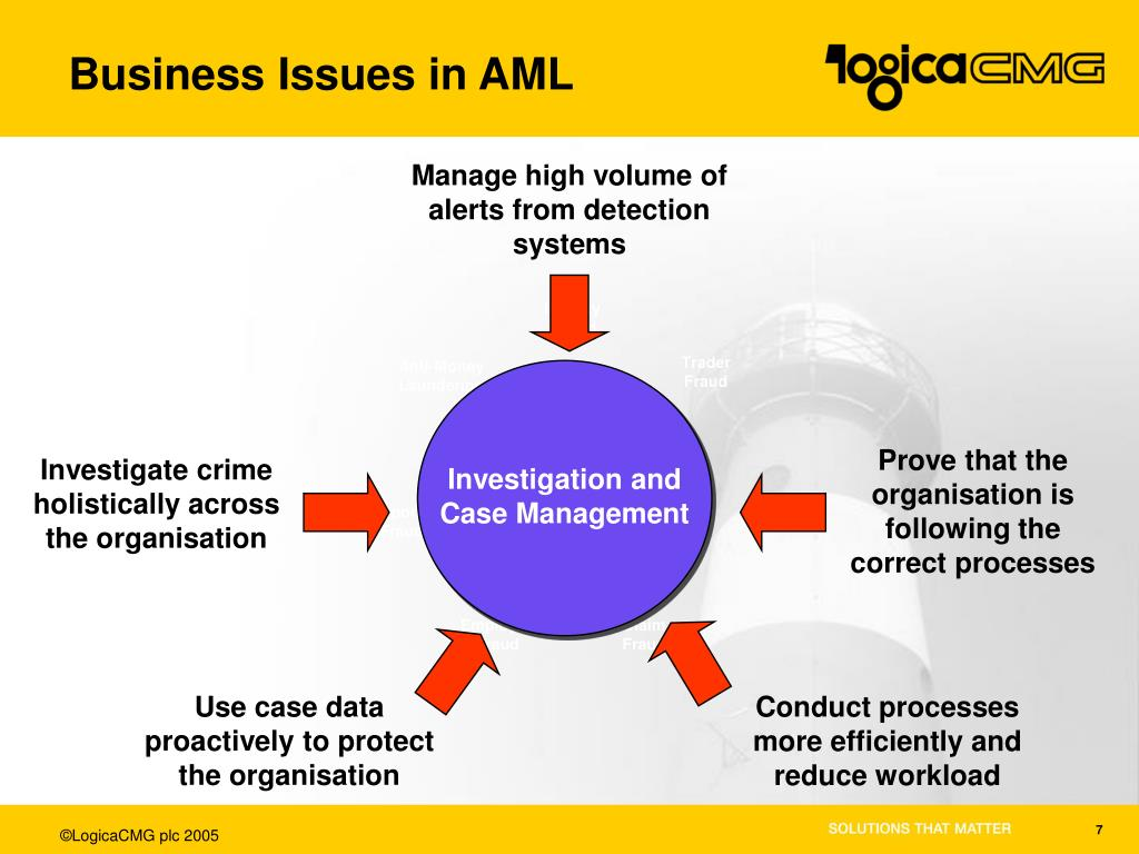 Business Issues in AML