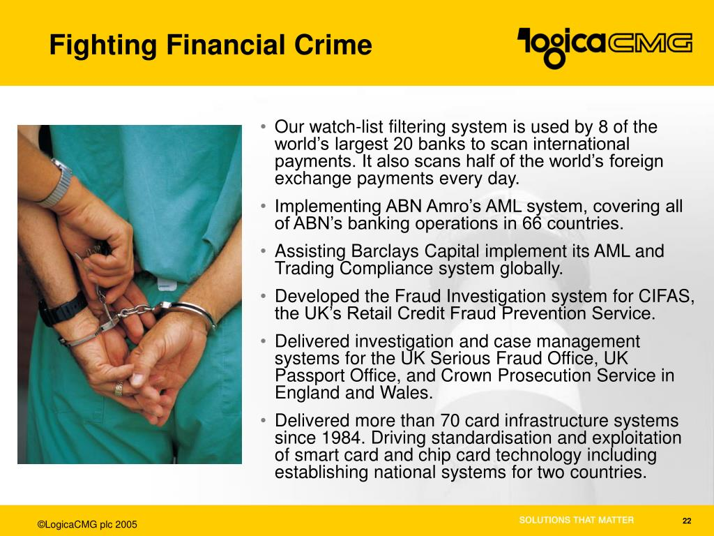 Fighting Financial Crime
