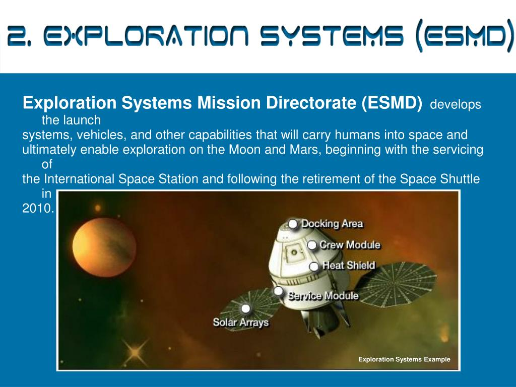 2. Exploration Systems (ESMD)