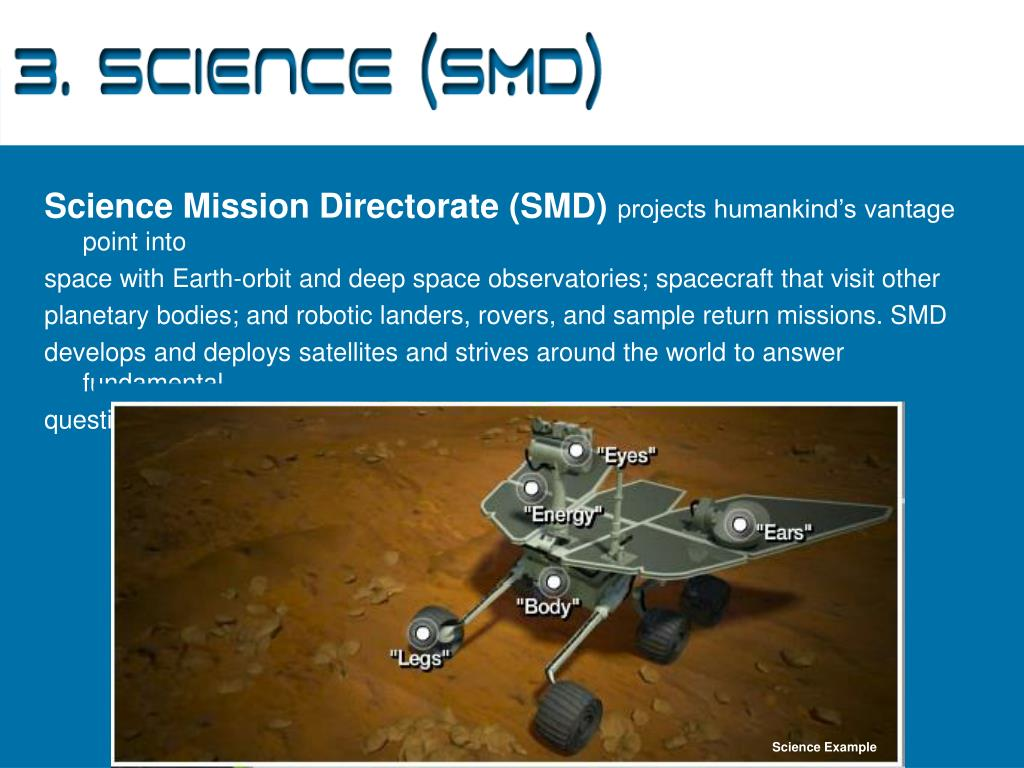 3. Science (SMD)