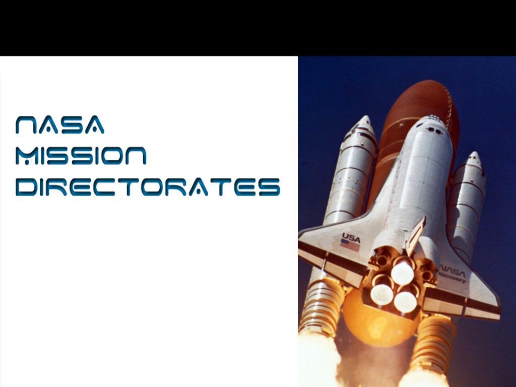 NASA Mission Directorates