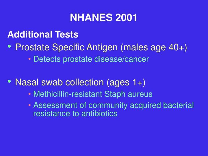 NHANES 2001