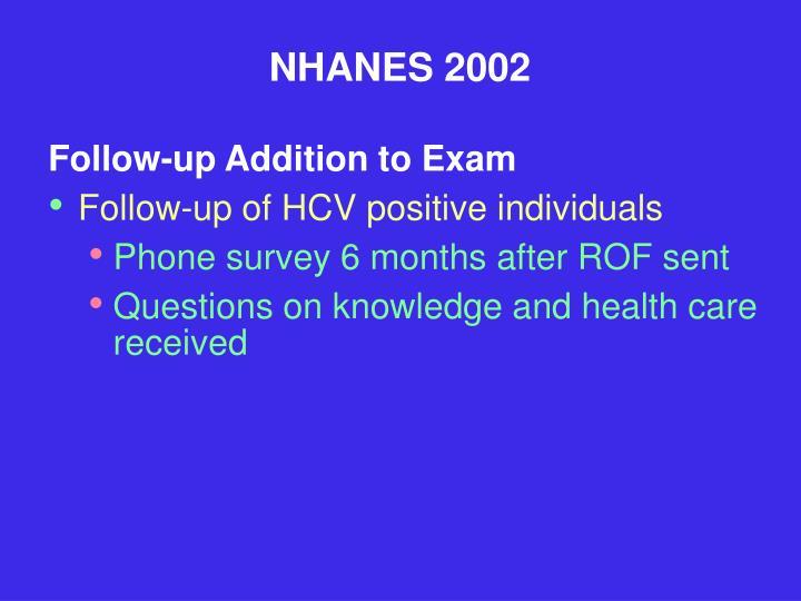 NHANES 2002