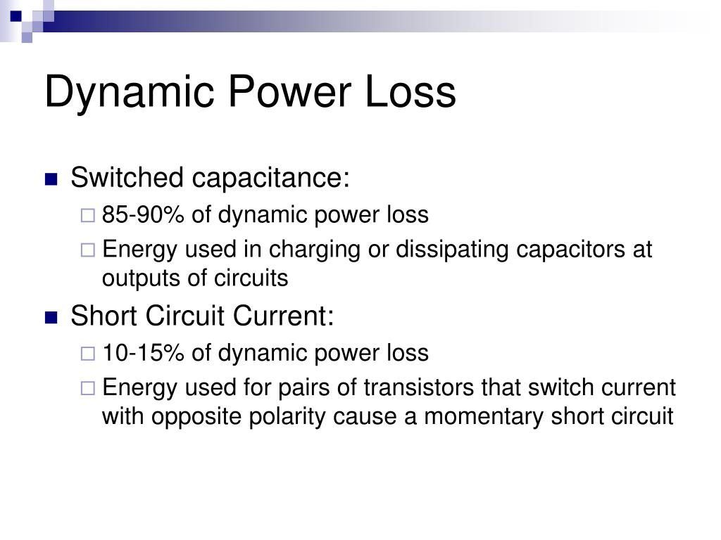 Dynamic Power Loss