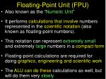 floating point unit fpu