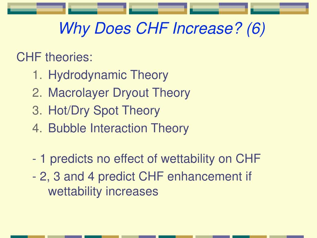 Why Does CHF Increase? (6)
