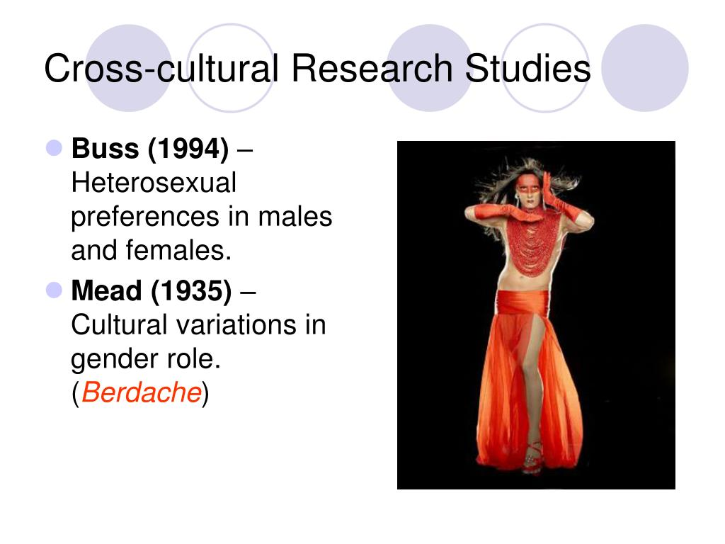 cross cultural studies in gender The study of gender in anthropology took a ethnographic studies of gender were grounded in culture and and monolithic understanding of women cross.