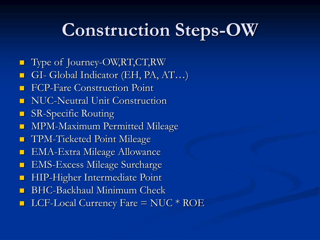 Construction Steps-OW