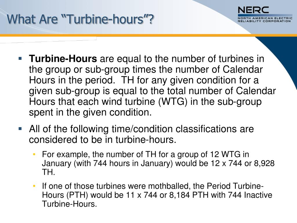 "What Are ""Turbine-hours""?"