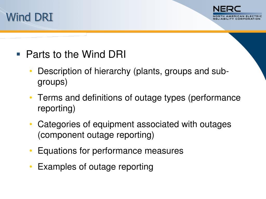 Wind DRI