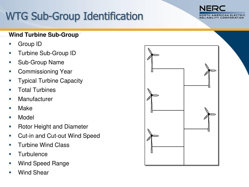 WTG Sub-Group Identification