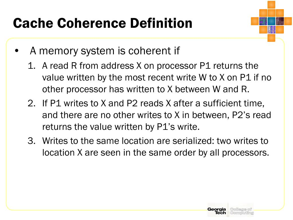 Cache Coherence Definition