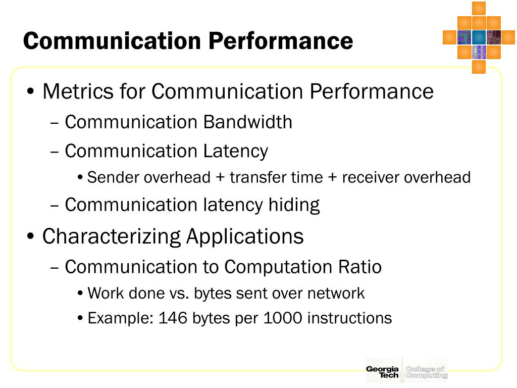 Communication Performance