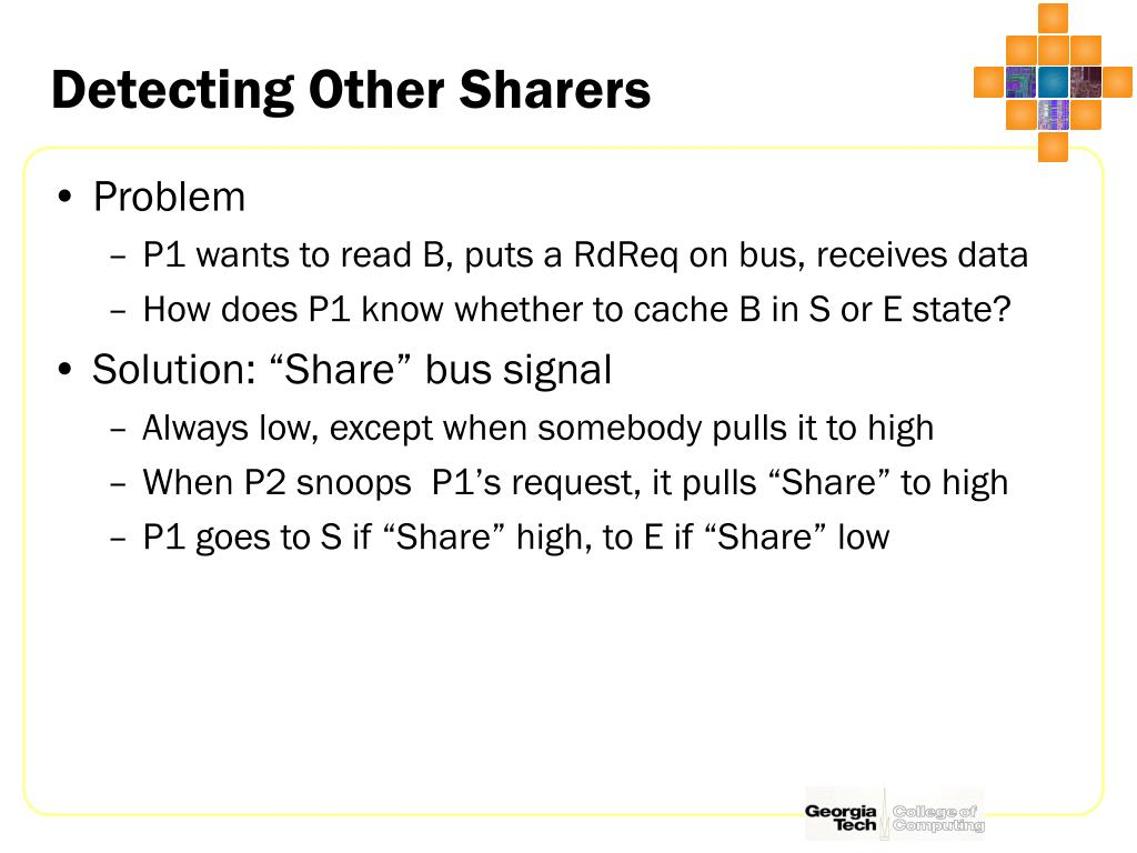 Detecting Other Sharers