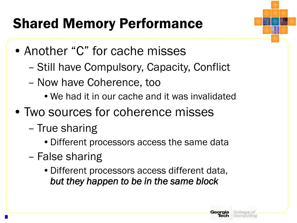 Shared Memory Performance