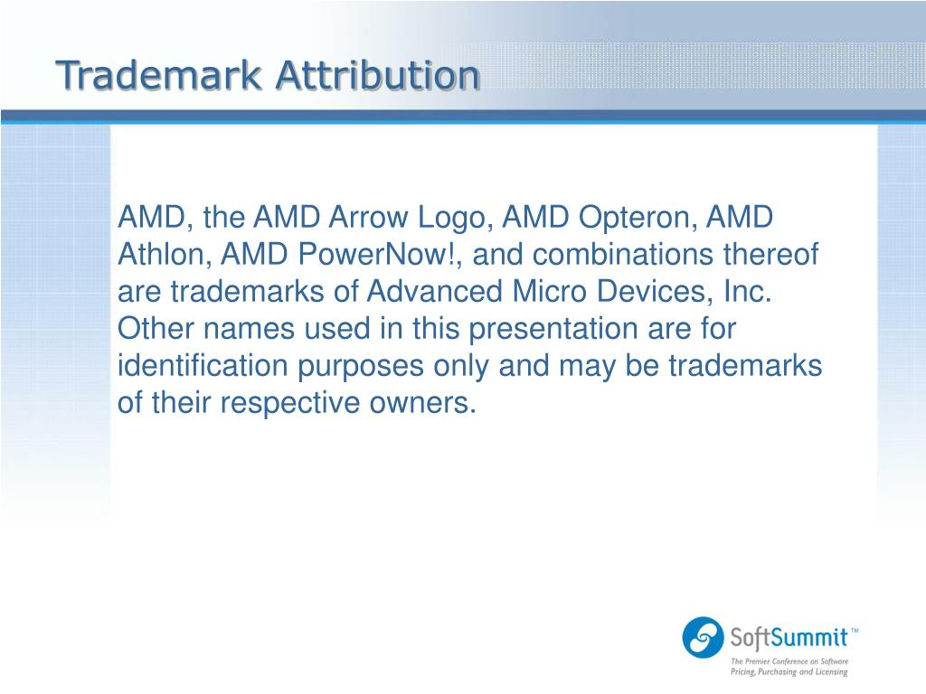Trademark Attribution