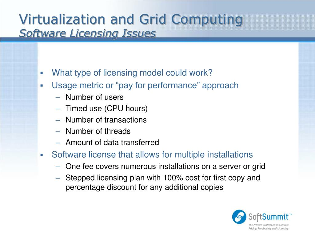 Virtualization and Grid Computing