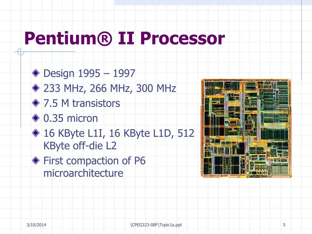 Pentium® II Processor