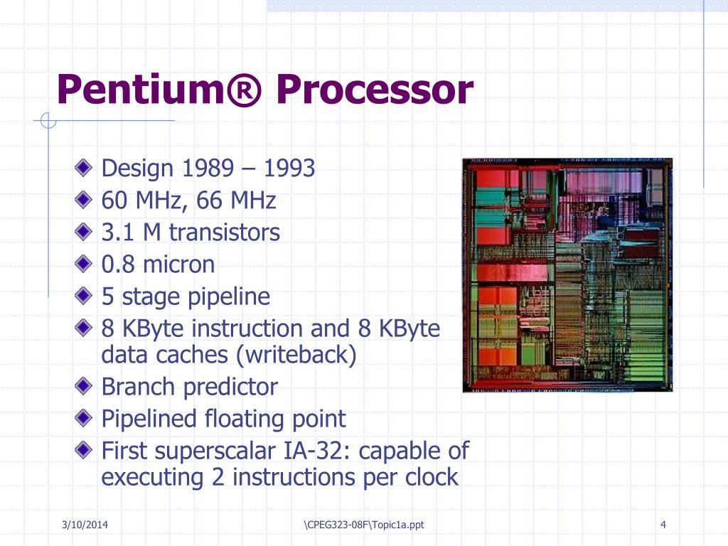 Pentium® Processor