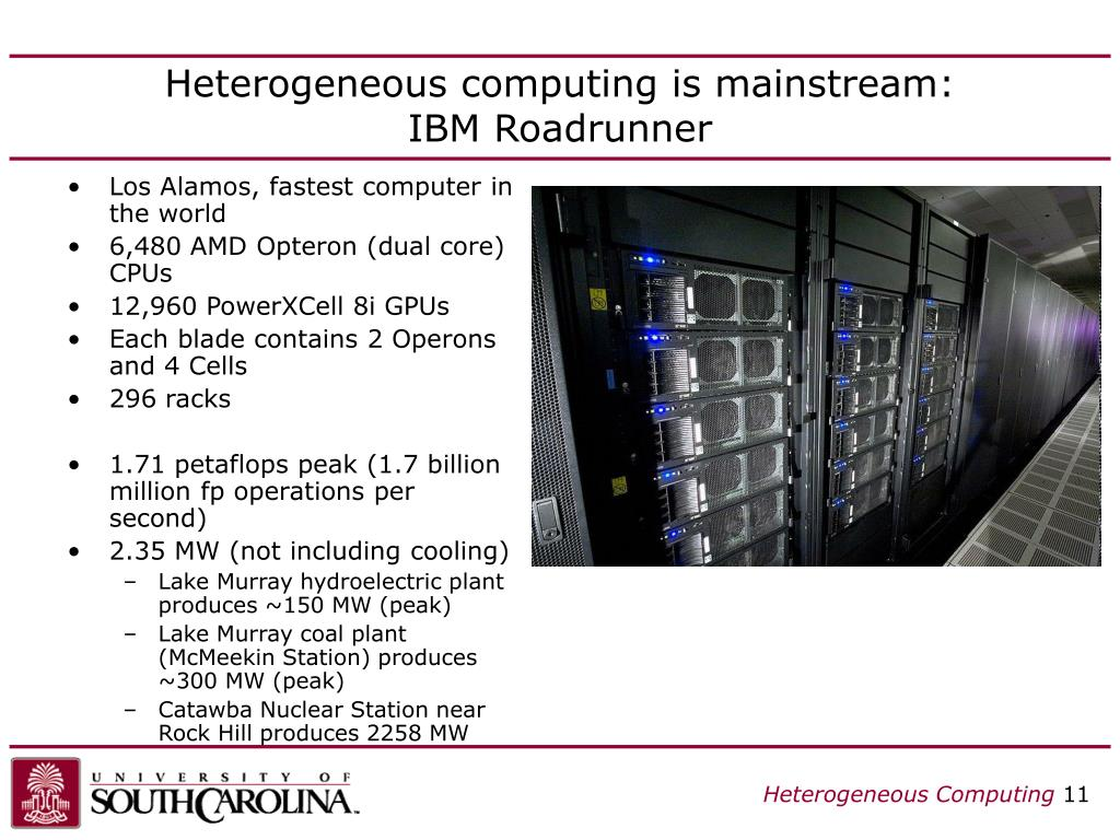 Heterogeneous computing is mainstream: