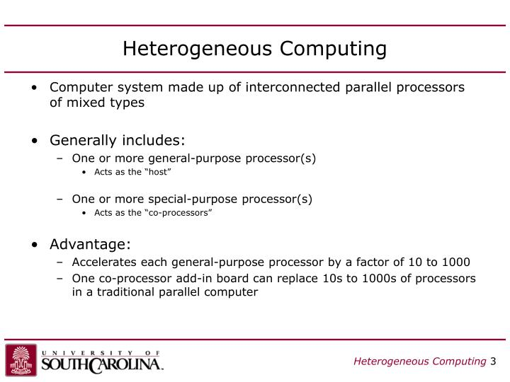 Heterogeneous computing3
