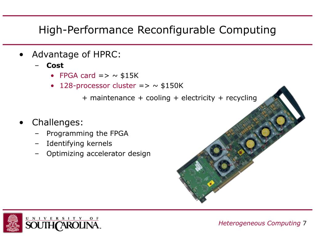 High-Performance Reconfigurable Computing