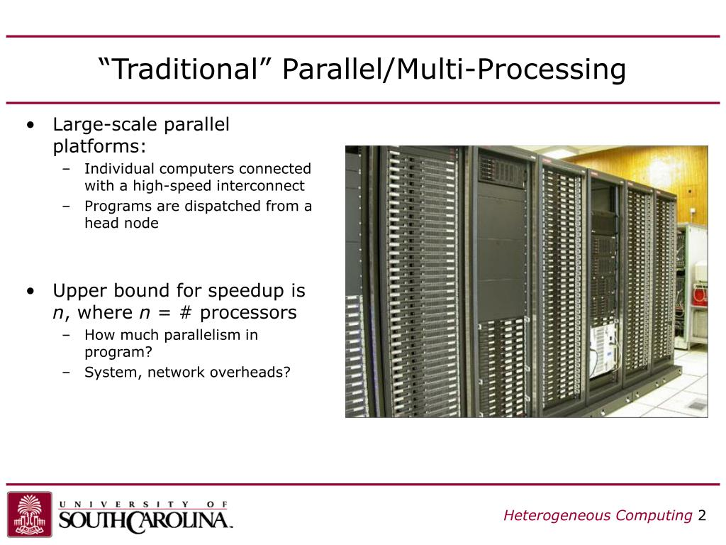 """Traditional"" Parallel/Multi-Processing"